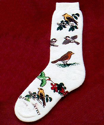Spring Birds from Critter Socks