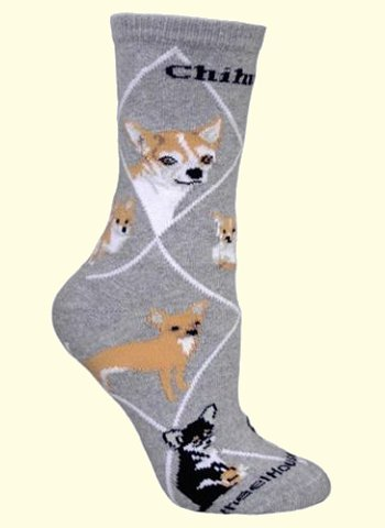 Chihuahua Socks from Critter Socks