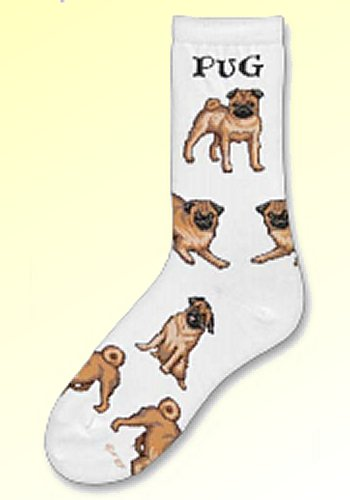 Pug Socks from Critter Socks