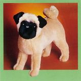 Stuffed Plush Pugs from Stuffed Ark