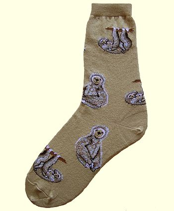 Sloth Socks from Critter Socks
