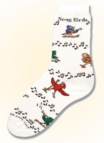 Song Birds from Critter Socks